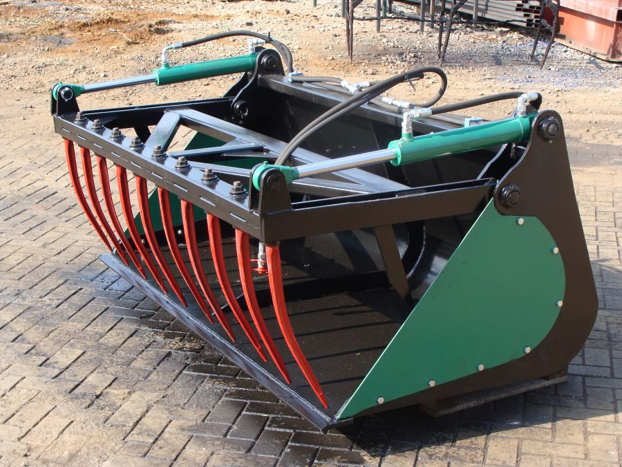Ładowacz łyżko krokodyl 1,6m odkręcane boki
